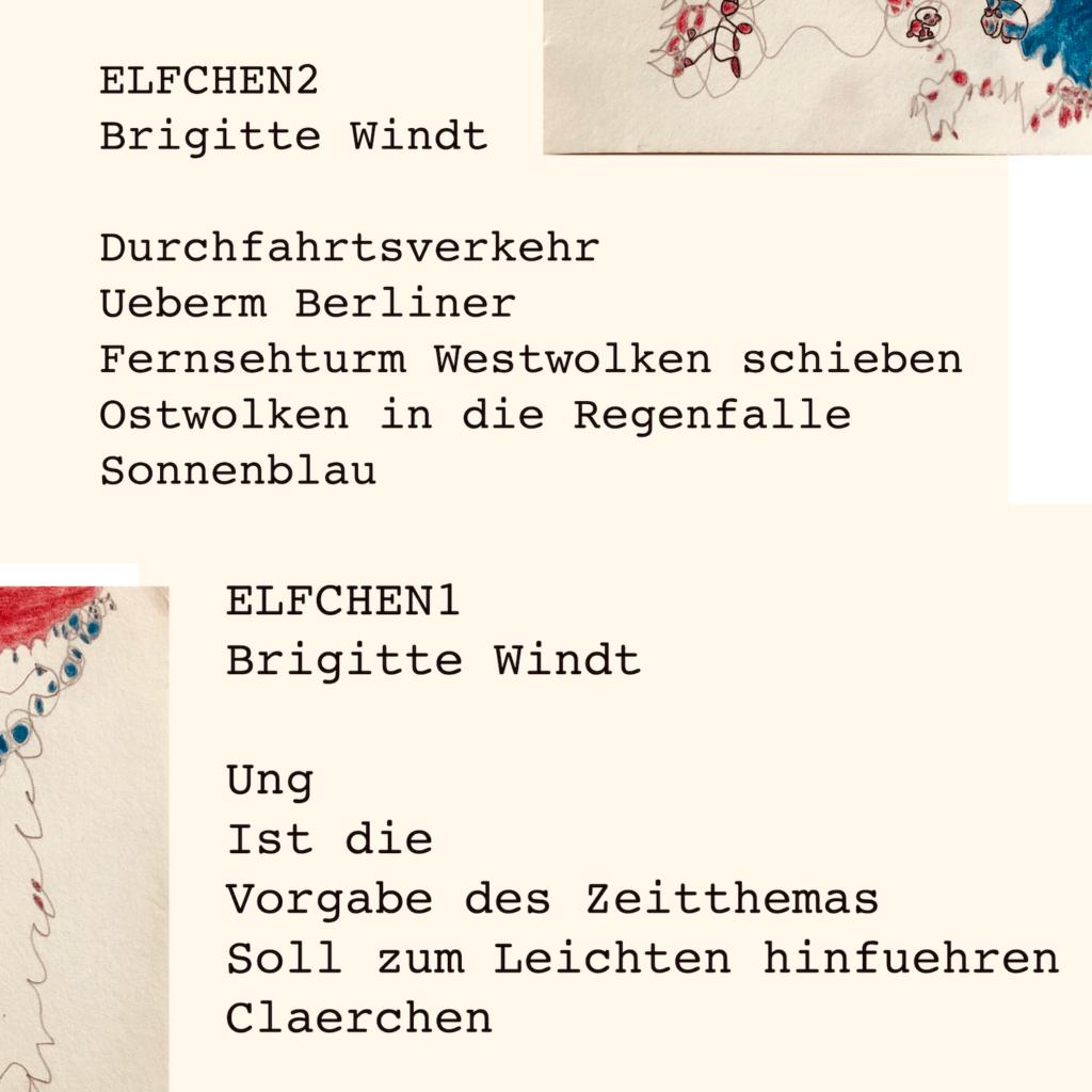 © ELFCHEN Brigitte Windt 2021 aus der Skizzenwerkstatt am 28.08.2021
